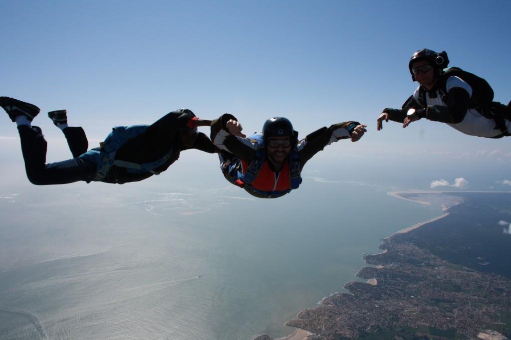 1st skydive jump