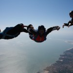 Follow skydive lesson : AFF training