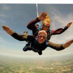 tandem jump skydive Royan