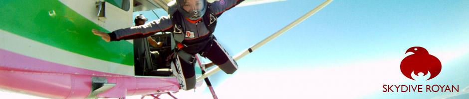 Saut parachute Royan