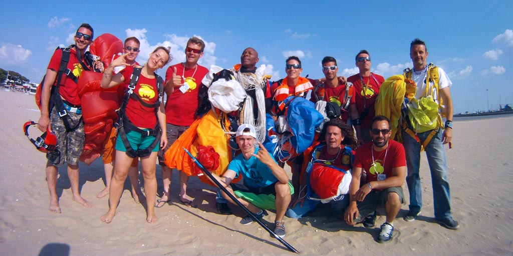 europhenix17 skydive Royan 2014team