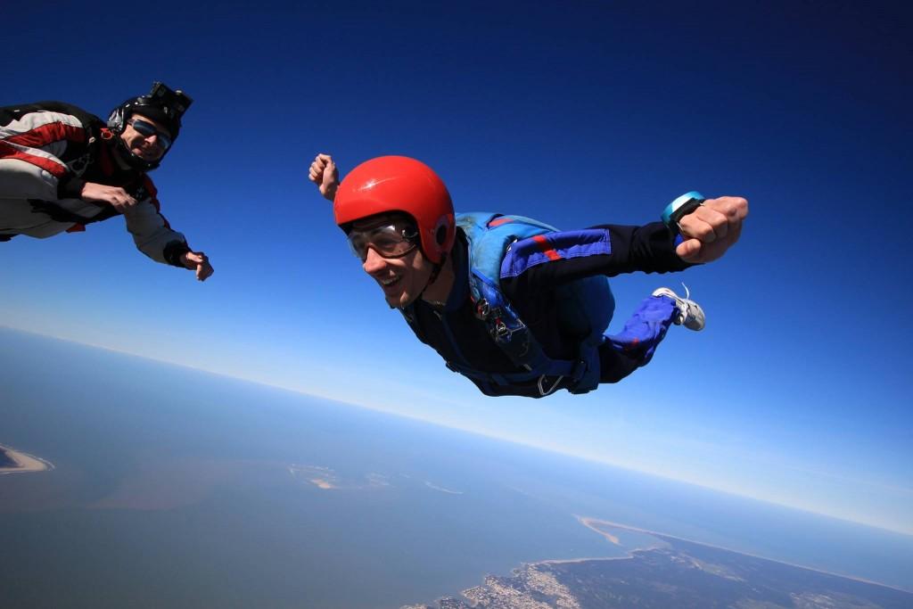 saut solo parachutisme