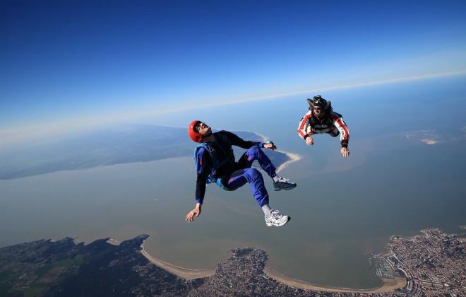 saut en parachute en solo