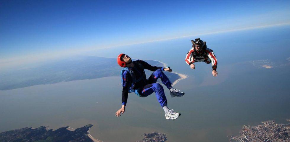 Saut en parachute Découverte - 1er saut de la formation PAC 1