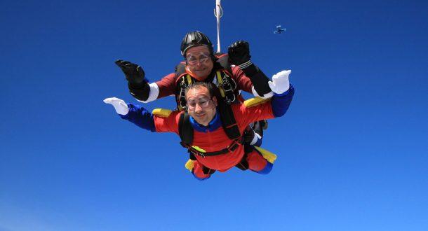 Saut en parachute tandem à Royan
