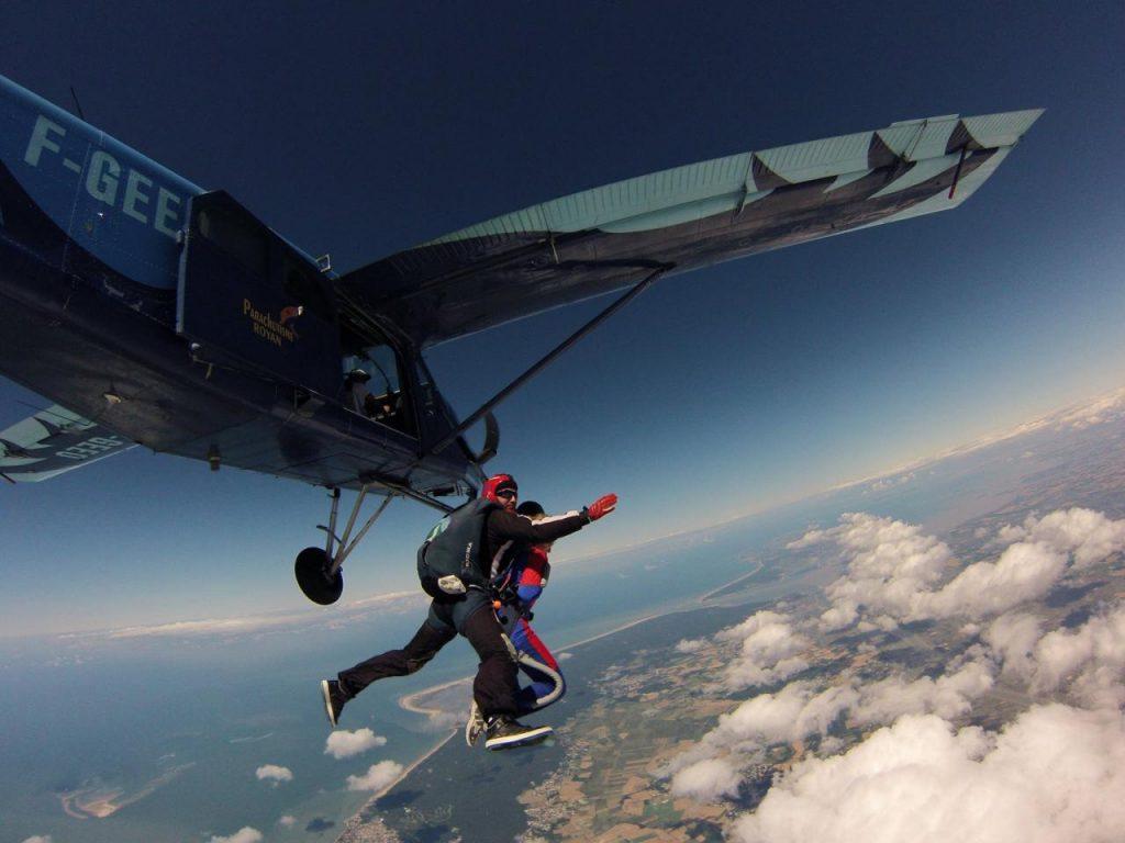 saut en parachute charente maritime