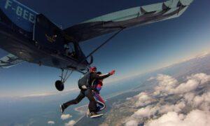 offrir saut parachute royan