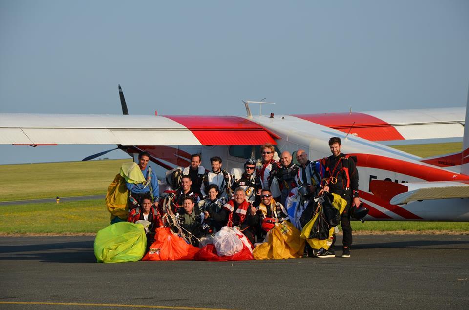 saut en parachute royan