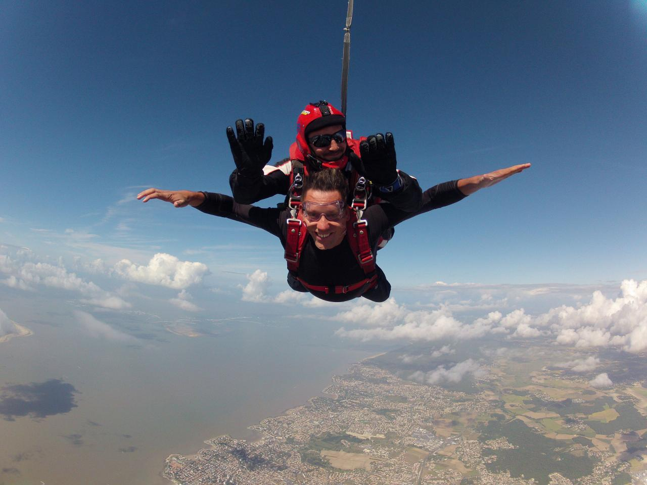 saut en parachute 2018