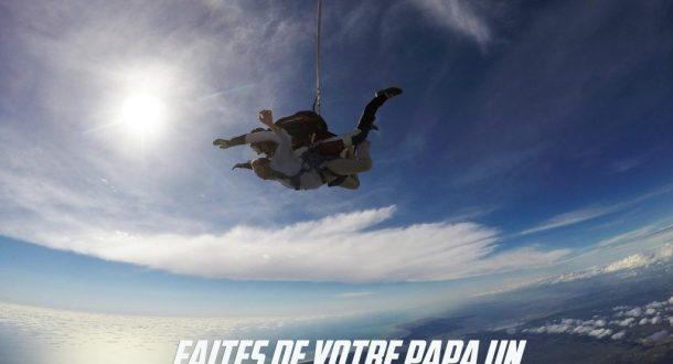 saut parachute fete des pères