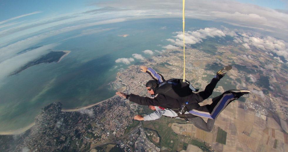 Bapteme parachute